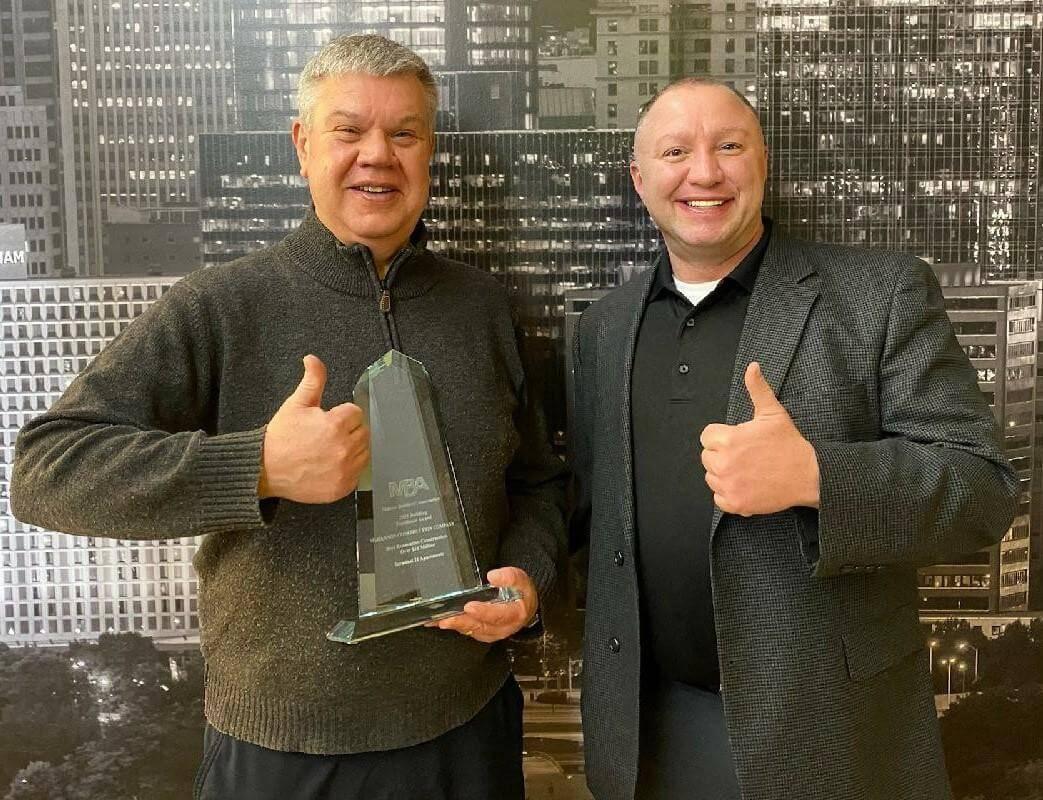 Master Builder's Association Award