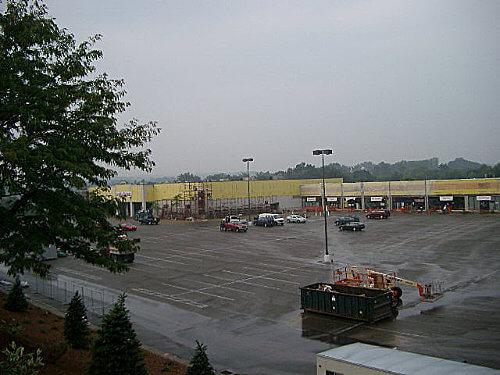 Cranberry Mall Facade update